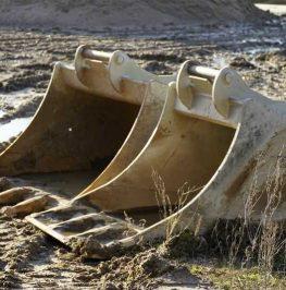 Grävskopa för grävmaskin