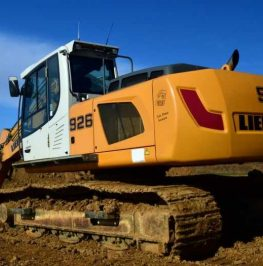 Bandburen grävmaskin 30 ton